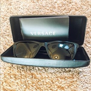 Versace women's polarized sunglasses